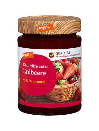 Darstellung von Konfitüre extra Erdbeere