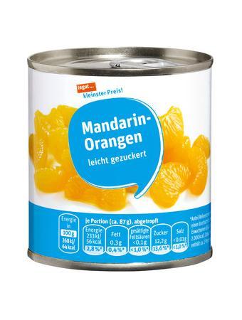 Darstellung von Mandarin-Orangen, leicht gezuckert