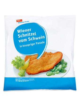Darstellung von Wiener Schnitzel vom Schwein