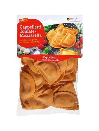 Darstellung von Cappelletti Tomate-Mozzarella