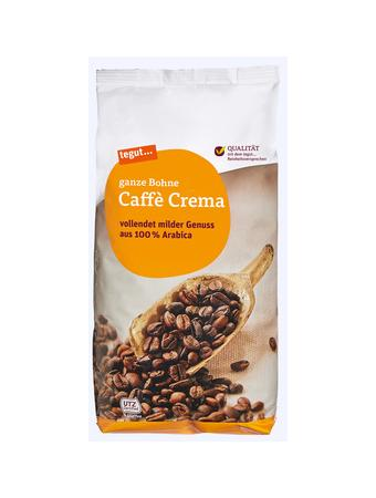 Darstellung von Caffè Crema, ganze Bohne