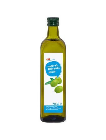 Darstellung von natives Olivenöl extra