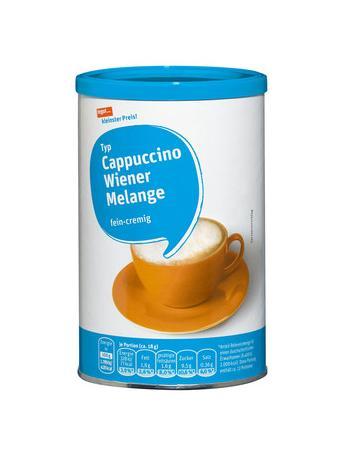 Darstellung von Cappuccino Wiener Melange