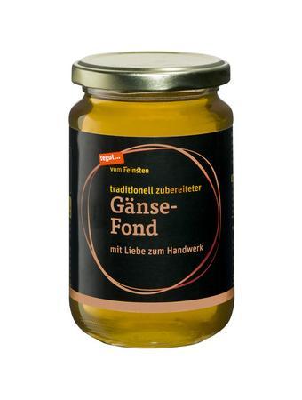Darstellung von Gänse-Fond