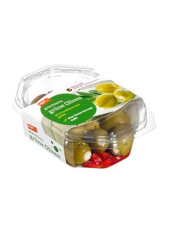 Darstellung von griechische grüne Oliven