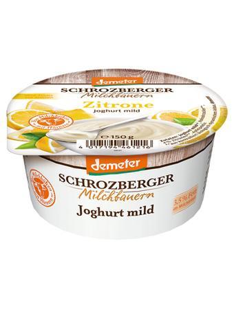 Darstellung von Schrozberger Joghurt mild Zitrone
