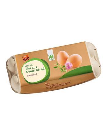 Darstellung von Bio Eier aus Deutschland, 10 Stück
