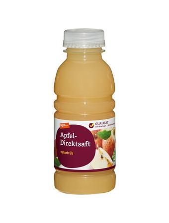 Darstellung von Apfel-Direktsaft naturtrüb 330 ml