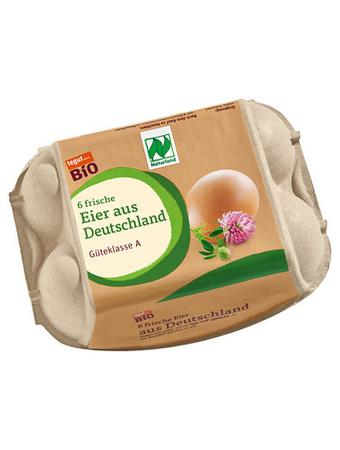 Darstellung von Bio Eier aus Deutschland, 6 Stück