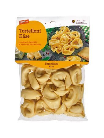 Darstellung von Tortelloni Käse
