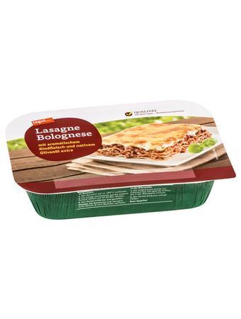 Darstellung von Lasagne Bolognese