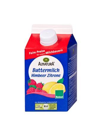 Darstellung von Alnatura Bio Buttermilch Himbeer-Zitrone