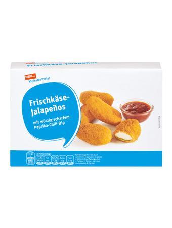 Darstellung von Frischkäse-Jalapeños