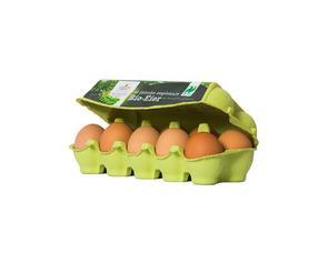 Darstellung von Bio Eier