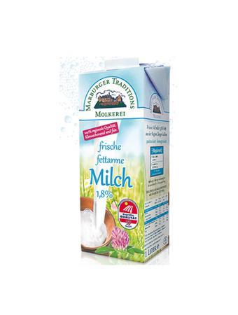 Darstellung von Frische fettarme Milch1,8%