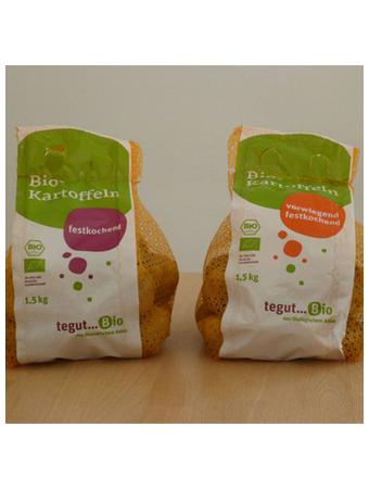 Darstellung von tegut... Bio Kartoffeln