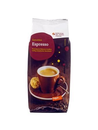Darstellung von Espresso Nachfüllpack