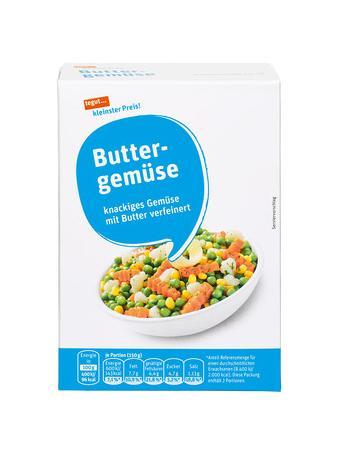 Darstellung von Buttergemüse