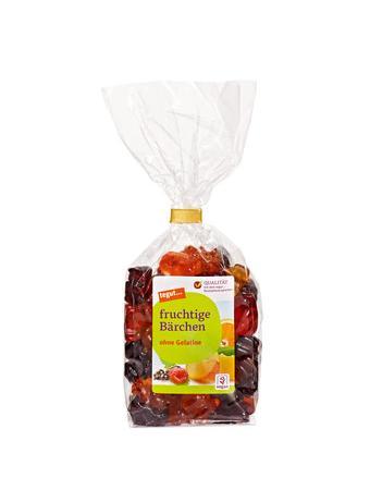 Darstellung von fruchtige Bärchen, ohne Gelatine