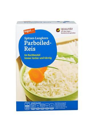Darstellung von Spitzen-Langkorn Parboiled-Reis