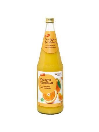 Darstellung von Orangen-Direktsaft