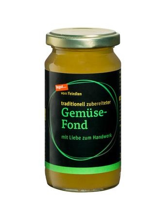 Darstellung von Gemüse-Fond
