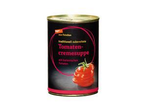 Darstellung von Tomatencremesuppe