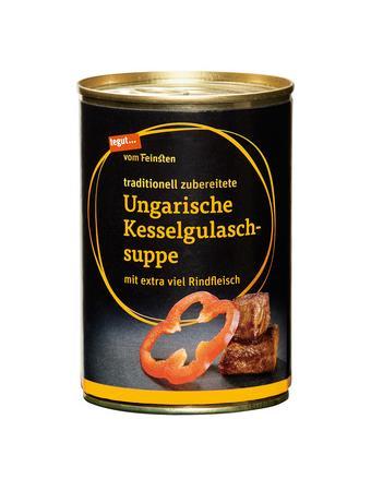 Darstellung von Ungarische Kesselgulaschsuppe