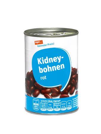 Darstellung von Kidneybohnen