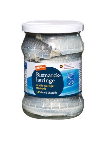 Darstellung von Bismarckheringe