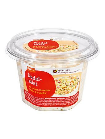 Darstellung von Nudelsalat