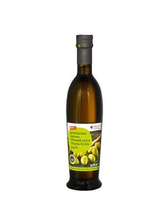 Darstellung von griechisches natives Olivenöl extra Chania Kritis g.g.A.