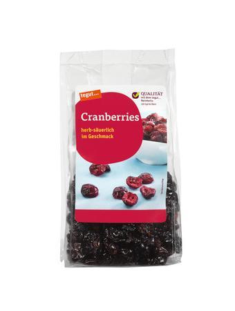 Darstellung von Cranberries