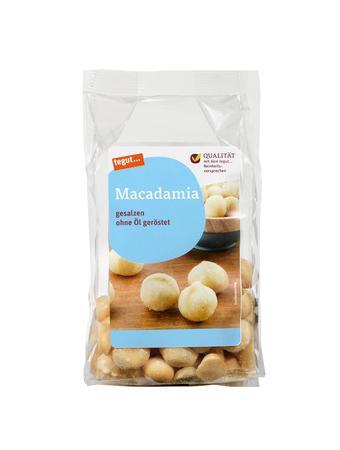Darstellung von Macadamia