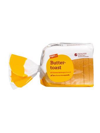 Darstellung von Buttertoast