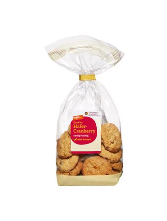 Darstellung von Cookies Hafer-Cranberry