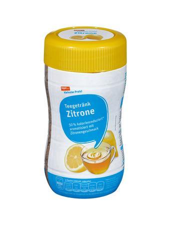 Darstellung von Zitronen Teegetränk