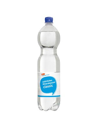 Darstellung von natürliches Mineralwasser classic
