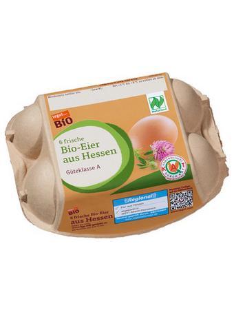 Darstellung von Bio-Eier 10/6er Hessen