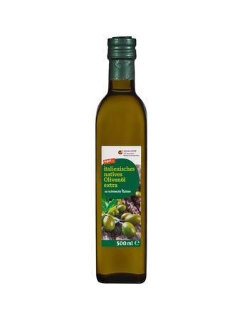 Darstellung von italienisches natives Olivenöl extra