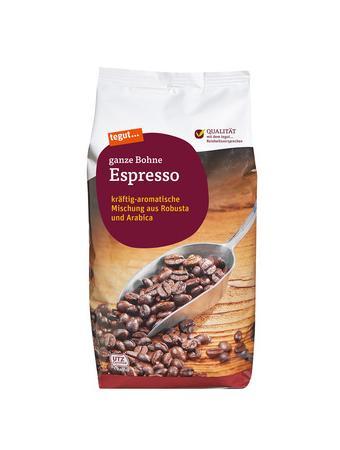 Darstellung von Espresso, ganze Bohne