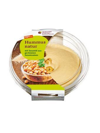 Darstellung von Hummus natur