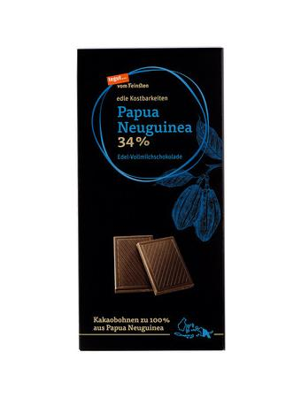 Darstellung von Papua Neuguinea 34%