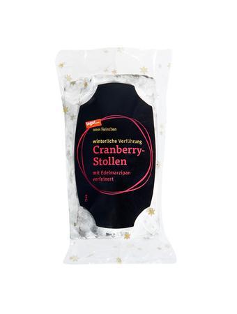 Darstellung von Cranberry-Stollen