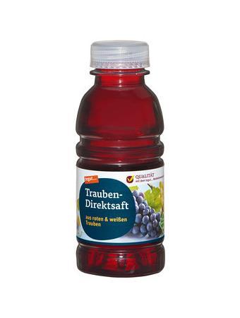 Darstellung von Trauben-Direktsaft 330 ml