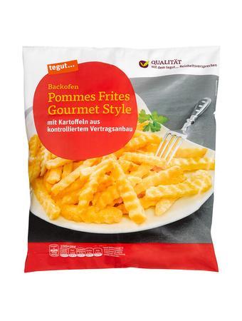 Darstellung von Backofen Pommes Frites Gourmet Style