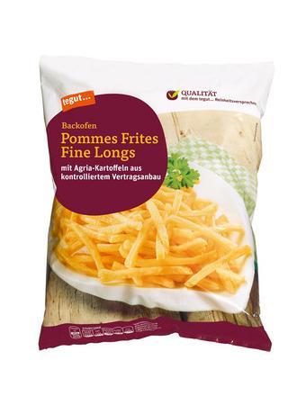 Darstellung von Backofen Pommes Frites Fine Longs