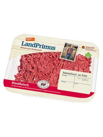 Darstellung von SB tegut... LandPrimus Rinderhackfleisch