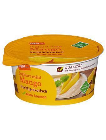 Darstellung von Joghurt mild Mango