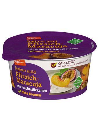 Darstellung von Joghurt mild Pfirsich-Maracuja